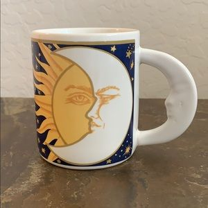 Vintage Celestial Vitromaster Galaxy Coffee Cup